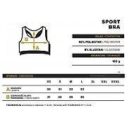 Trec Wear Stanik Sportowy TrecGirl BRA 11 Dual Mesh White 3/3