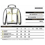 Trec Wear Bluza Hoodie TrecGirl Oversize 001 Beige 4/4