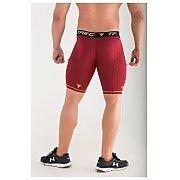 Trec Wear Pro Short Pants 005 Maroon 3/5