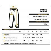 Trec Wear Pants Jogger 044 Stripe Beige 4/4