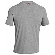 Under Armour Koszulka Męska Charged Cotton® Sportstyle Left Chest Logo T 1257616-025 szary 2/6