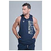 Trec Wear Boxer Hoodie 02 Stripe Navy 3/5