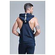 Trec Wear Boxer Hoodie 02 Stripe Navy 4/5