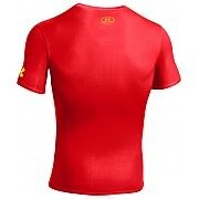 Under Armour Rashguard Męski Alter Ego Compression Shortsleeve Flash 1244399-605 czerwony 2/6