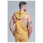 Trec Wear Boxer Hoodie 03 Stripe Beige 3/4