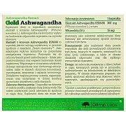 Olimp Gold Ashwagandha 30kaps. 2/2