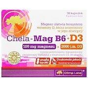 Olimp Chela Mag B6 + D3 30kaps. 2/3