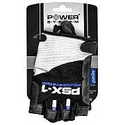Power System Rękawice Treningowe PSX-1 (PS-2680) biało-czarno-niebieskie 3/4
