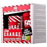 Fitness Authority Xtreme C.H.A.R.G.E. [ Charge ] 500g + Shaker i Próbki 2/4