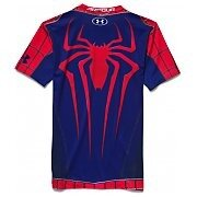 Under Armour Rashguard Męski Amazing Spiderman Compression Shirt 1254143-600 mix 2/4