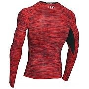 Under Armour Rashguard Męski HG CoolSwitch Comp LS 1275057-984 czerwony 2/6