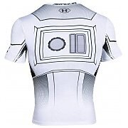 Under Armour Rashguard Męski Star Wars Trooper Compression 1273450-100 biały 2/4