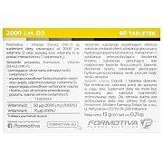 Formotiva Vitamin D3 + K2 MK-7 60tab. 3/3