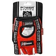 Power System Rękawice Treningowe Workout (PS-2200) czerwono-białe 2/2