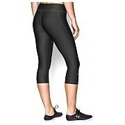 "Under Armour Leginsy HeatGear® Alpha Compression 17"" Capri 1257980-090 szaro-czarny 2/4"