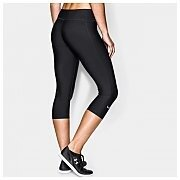 "Under Armour Leginsy Damskie HeatGear® Armour Compression 17"" Capri 1257980-001 czarny 2/4"