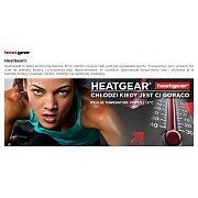 "Under Armour Leginsy Damskie HeatGear® Armour Compression 17"" Capri 1257980-001 czarny 4/4"