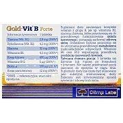 Olimp Gold-Vit B Forte 60tab. 3/3
