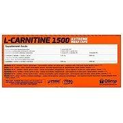 Olimp L-Carnitine 1500 Extreme 120kaps. [promocja] 2/2