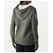 Under Armour Bluza Damska UA Favorite Fleece Wordmark Hoody 1264719-090 szary 5/5