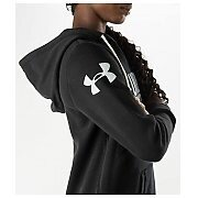 Under Armour Bluza Damska UA Favorite Fleece Wordmark Hoody 1264719-001 czarny 6/6