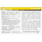 Formotiva Vitamin D3 + K2 MK-7 60tab. Wyprzedaż! 3/3
