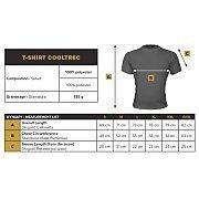 Trec Wear T-shirt CoolTrec 010 Orange-Fluo 4/4