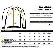 Trec Wear CoolTrec Long Sleeve 014 Maroon 4/4