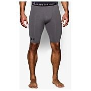 Under Armour Spodenki Męskie Heatgear Armour Compression Shorts Long 1257472-090 szary 2/5