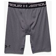 Under Armour Spodenki Męskie Heatgear Armour Compression Shorts Long 1257472-090 szary 3/5