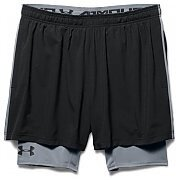 Under Armour Spodenki Męskie Mirage 2-in-1 Trainer Short 1271948-001 czarny 6/6