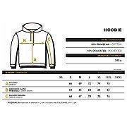 Trec Wear Trec Wear Hoodie 058 Classic Grey 6/6