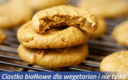 Ciastka białkowe nie tylko dla wegetarian
