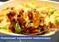Proteinowa zapiekanka makaronowa